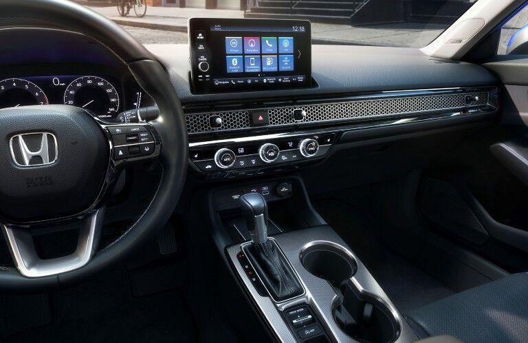 2022 Honda Civic Steering Wheel and Dashboard