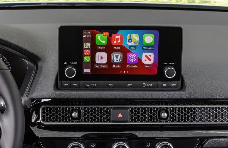 2022 Honda Civic Touchscreen Display with Apple CarPlay