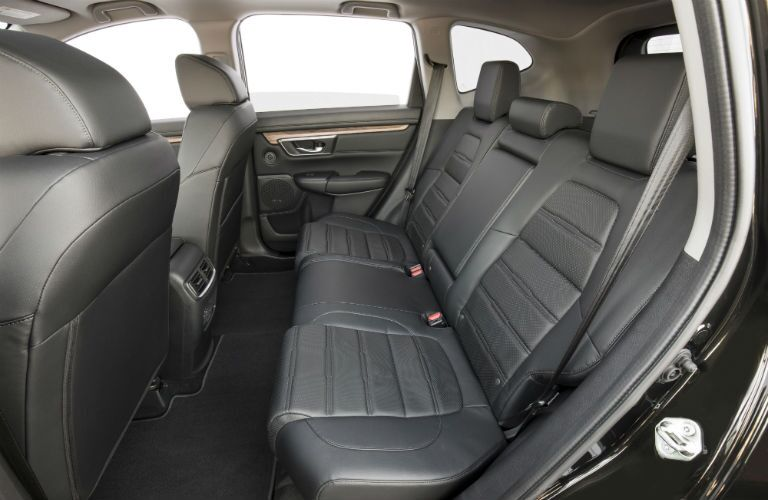 A photo showing the rear seats of the 2019 CR-V.