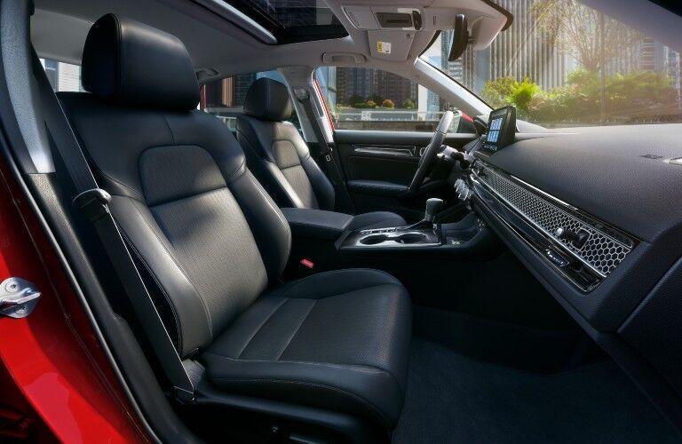 2022 Honda Civic Front Seat Interior