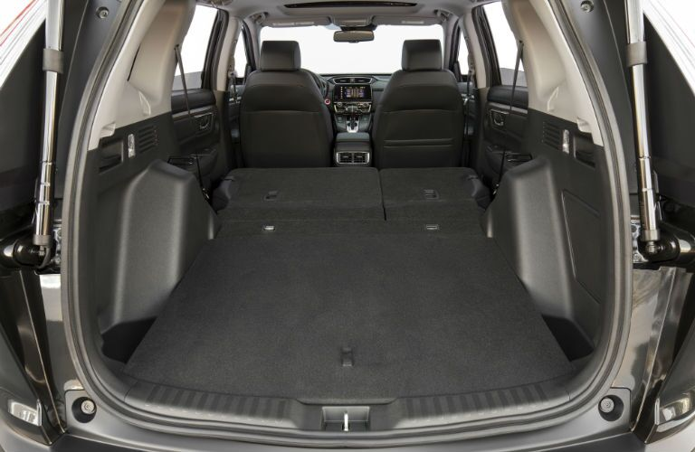 A photo showing the rear cargo area in the 2019 CR-V.