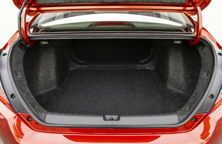 A photo of the trunk space in the 2021 Honda Civic Sedan.
