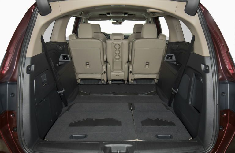 A photo of another cargo configuration in the 2020 Honda Odyssey.