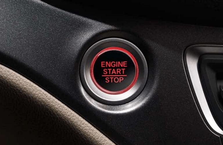 2017 Honda Pilot LX 2WD 6A Push Start Engine Button