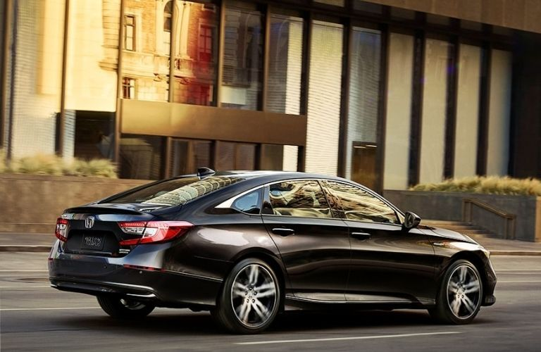 Side view of the 2022 Honda Accord