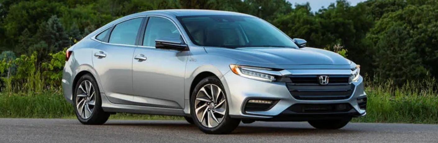 View of the 2022 Honda Insight Hybrid on road