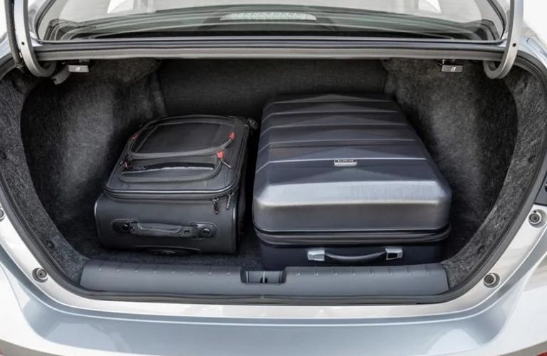 View of the cargo space in the 2022 Honda Insight Hybrid