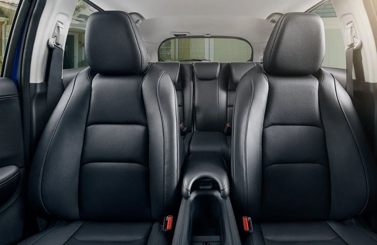 Front angle view of the seats of the 2022 Honda HR-V