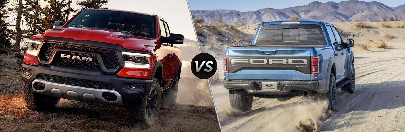Another side-by-side comparison of the 2019 Ram 1500 vs. 2019 Ford F-150.