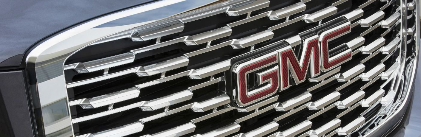 A close up photo of the special used on the 2019 GMC Yukon Denali.