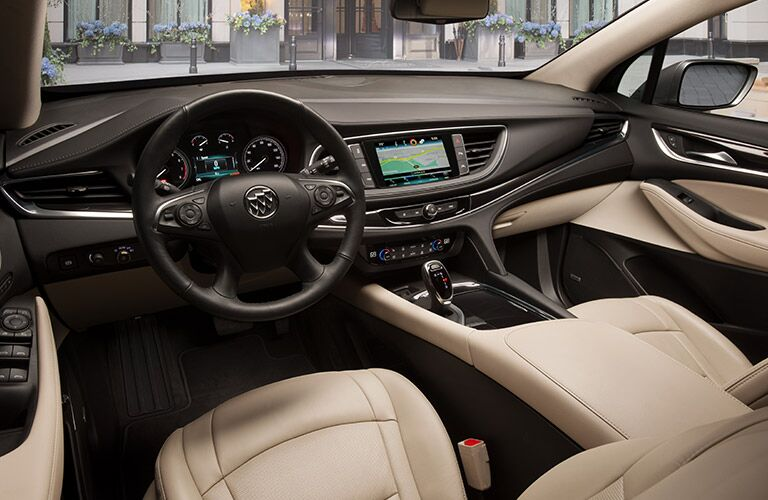 a photo of the forward cabin of the 2019 Buick Enclave.