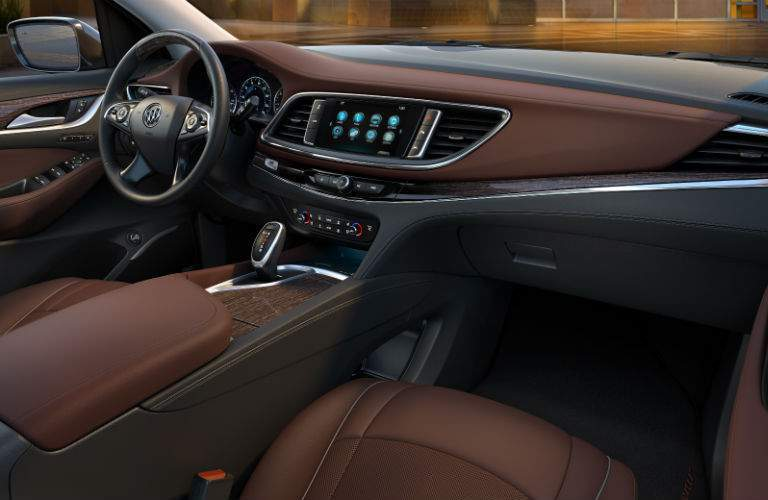 The interior of the 2018 Buick Enclave Avenir is filled with exclusive accents and elements
