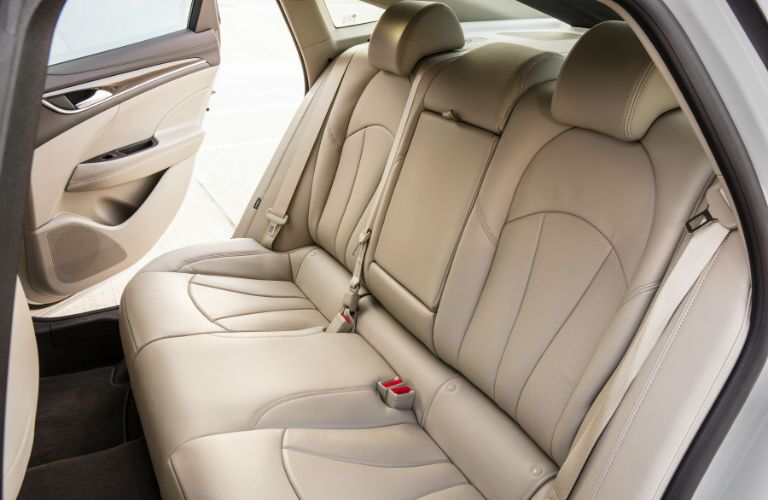 A photo of the spacious back seat found in the 2018 Buick LaCrosse