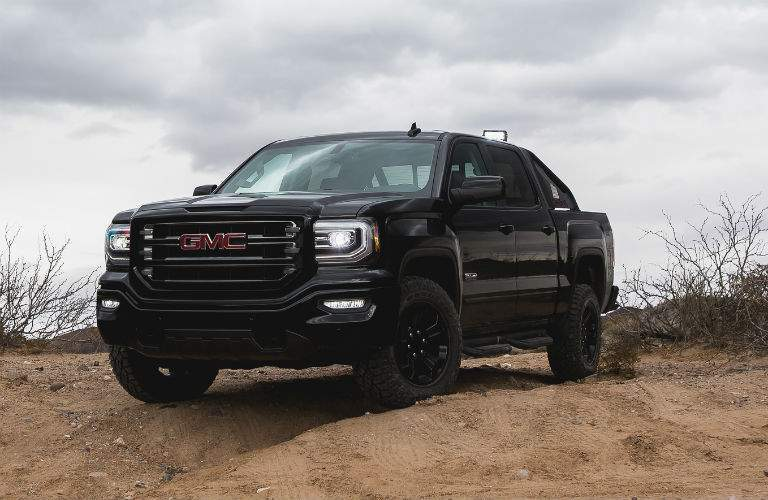 There are several appearance package options for the 2017 GMC Sierra