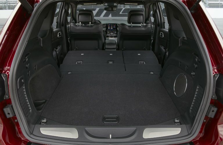 A photo of the max cargo configuration in the 2019 Jeep Grand Cherokee.
