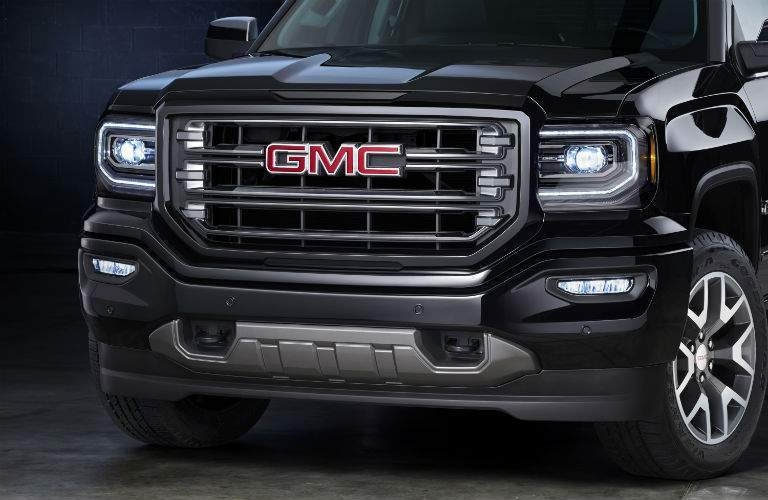 The 2017 GMC Sierra Half-Ton has a very strong and athletic stance on the road