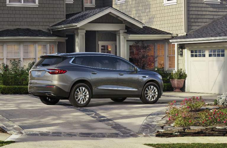 An upgraded V-6 engine allows the new Enclave to have excellent towing scores