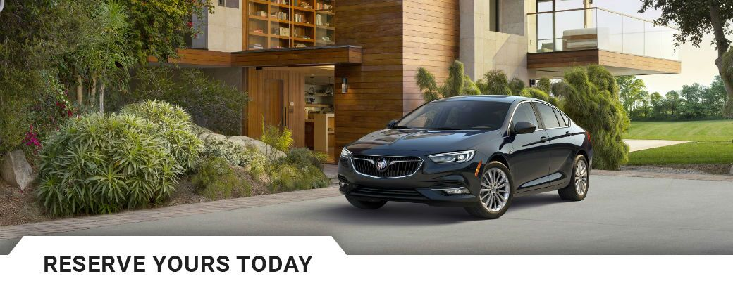 Reserve the 2018 Buick Regal Sportback in Bozeman, MT