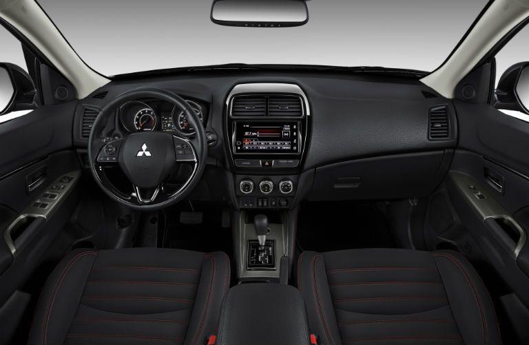 2019 Mitsubishi Outlander Sport front interior