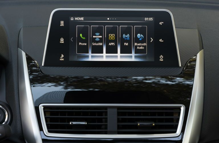 Color touchscreen of the 2018 Mitsubishi Eclipse Cross