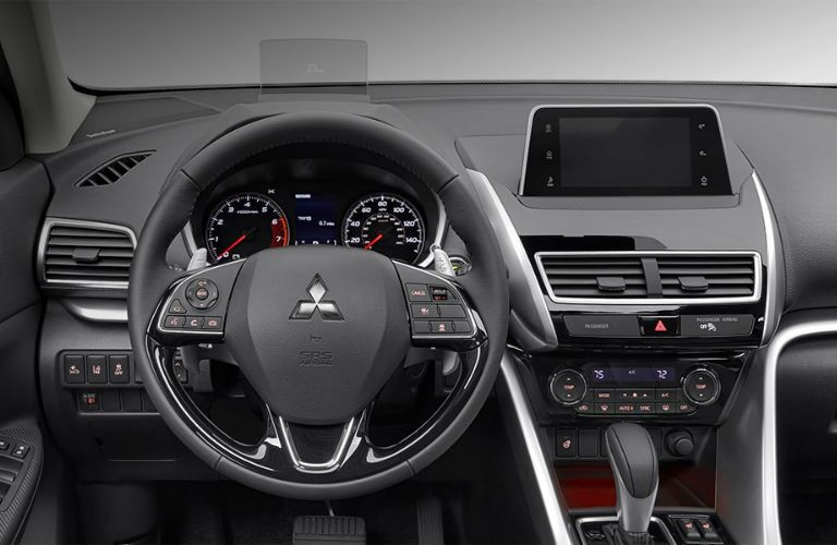 2018 Mitsubishi Eclipse Cross front driver-oriented interior