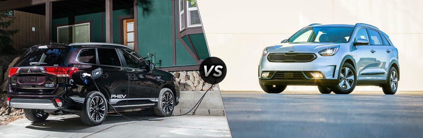 2018 Mitsubishi Outlander PHEV vs 2018 Kia Niro PHEV