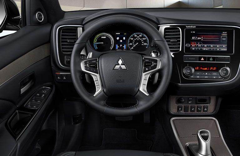mitsubishi outlander PHEV steering wheel