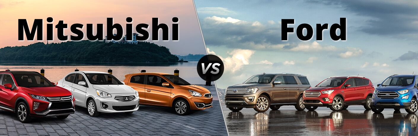 mitsubishi vs ford models