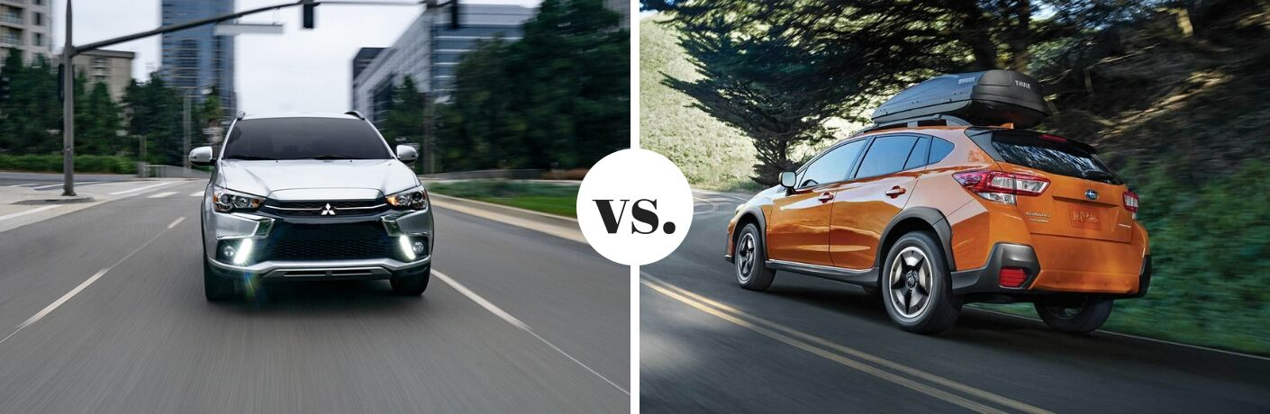 2019 Mitsubishi Outlander Sport vs 2019 Subaru Crosstrek