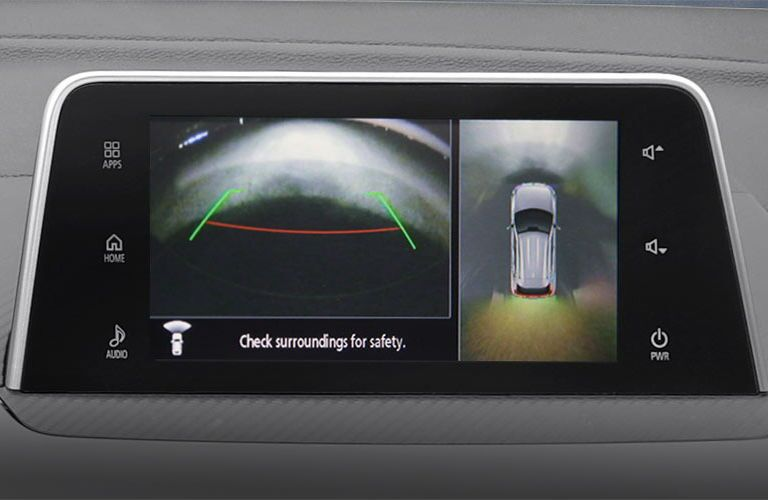 2019 Mitsubishi Eclipse Cross rearview camera