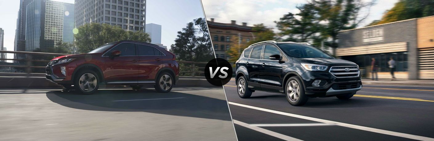 2019 Mitsubishi Eclipse Cross vs 2019 Ford Escape