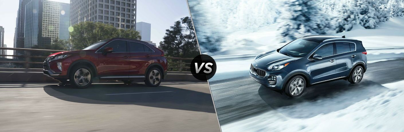 2019 Mitsubishi Eclipse Cross vs 2019 Kia Sportage