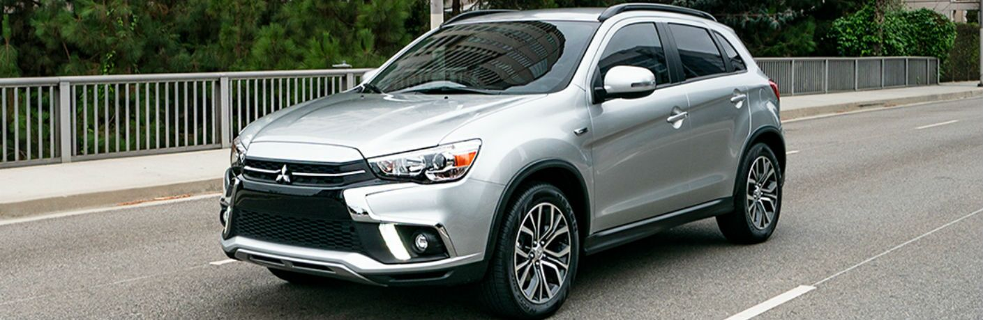 2019 Mitsubishi Outlander Sport parked on a road