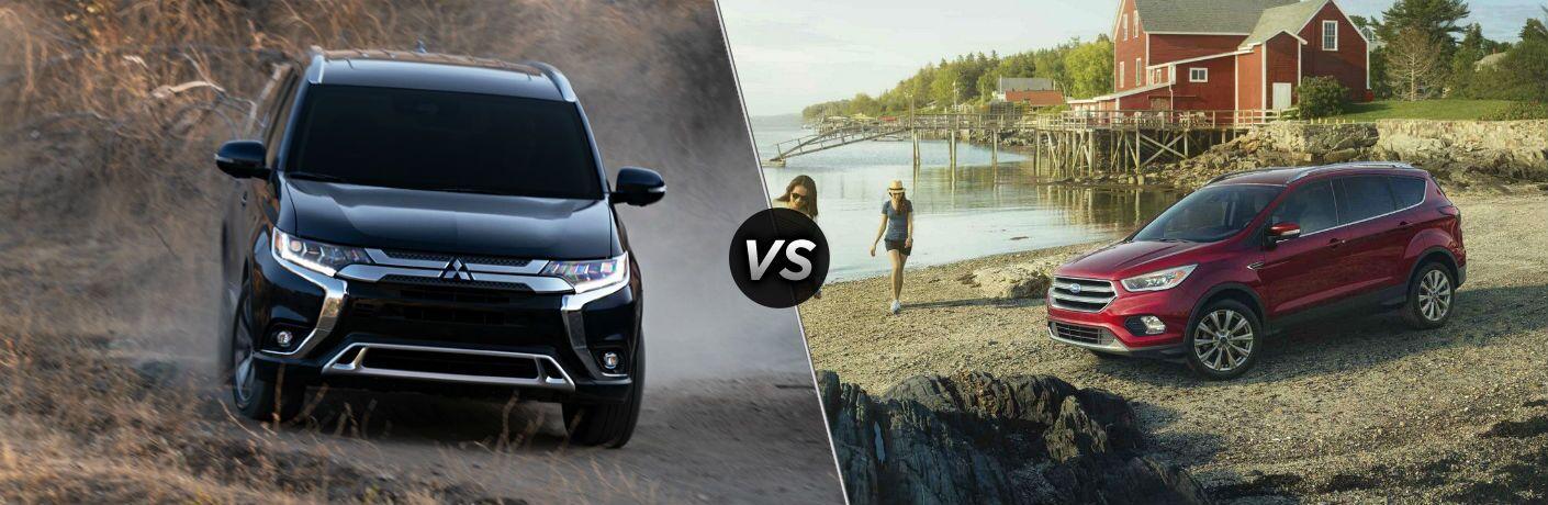 2019 Mitsubishi Outlander vs 2019 Ford Escape