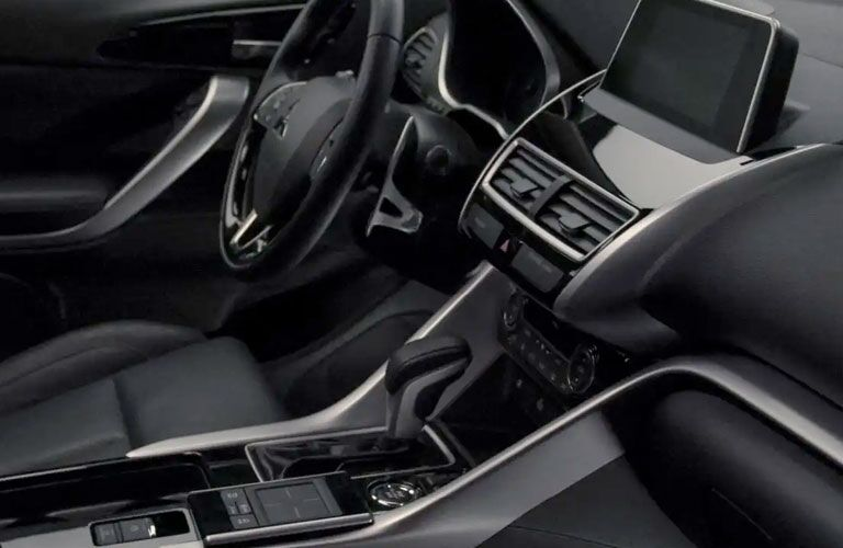 2020 mitsubishi eclipse cross console, dashboard and touch screen