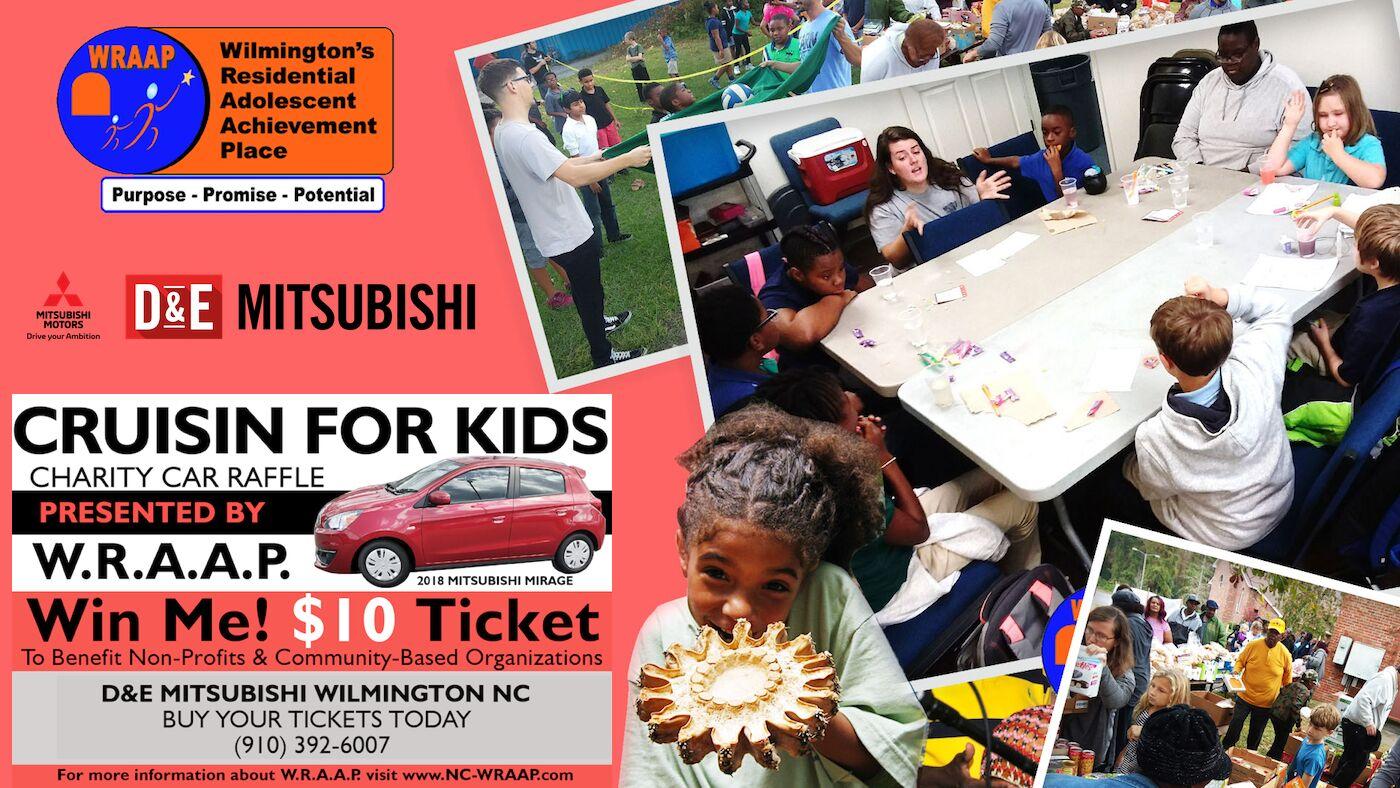 WRAAP Cruisin' For Kids Charity Car Raffle Wilmington NC