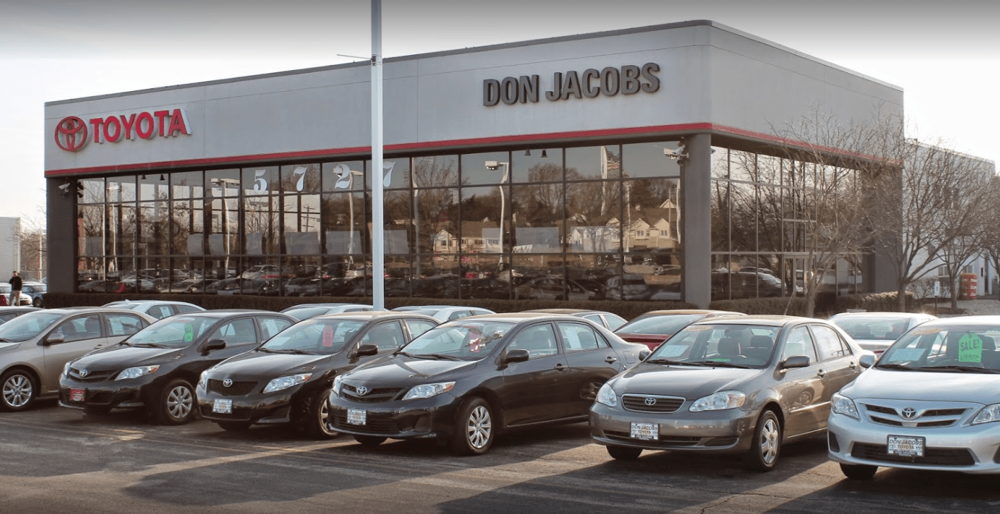 don jacobs dealership storefront