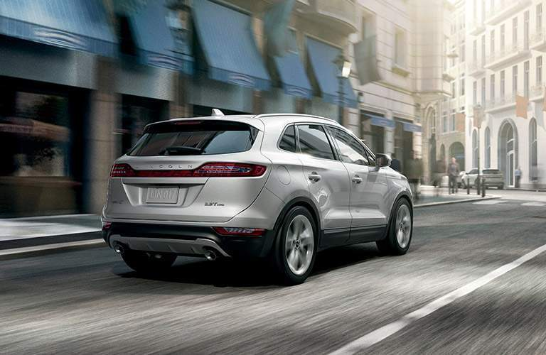 2017 Lincoln MKC Rear View Exterior Silver