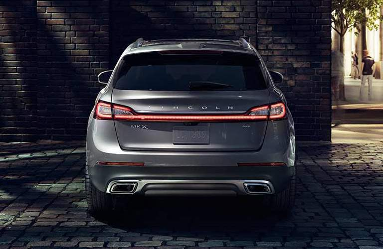 2017 Lincoln MKX Black Exterior Rear View