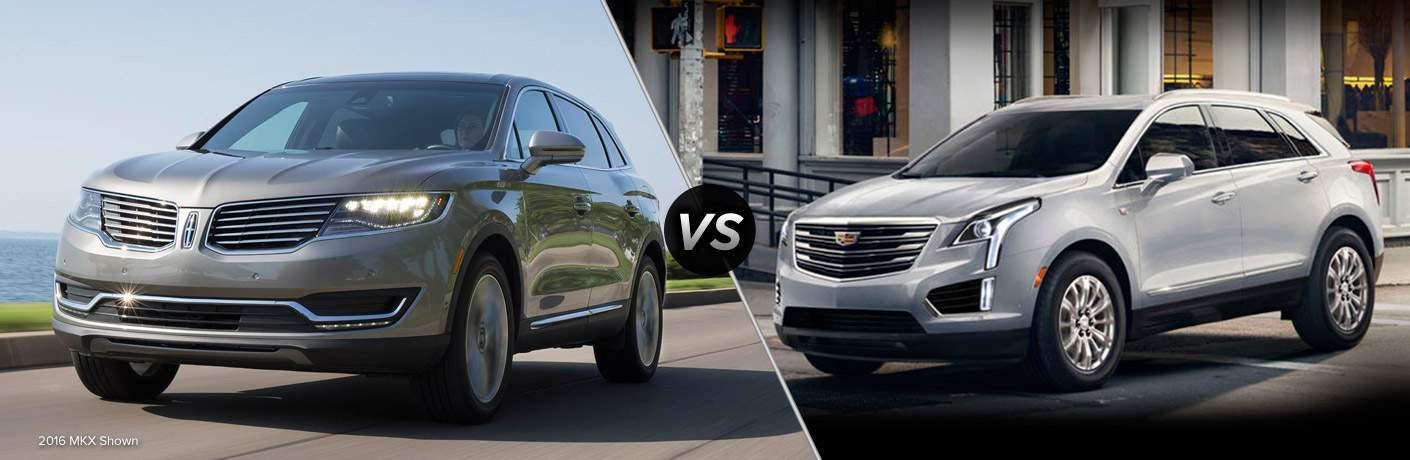 2017 Lincoln MKX vs 2017 Cadillac XT5 SUV