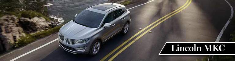 2017 Lincoln MKC Silver Exterior Overhead View