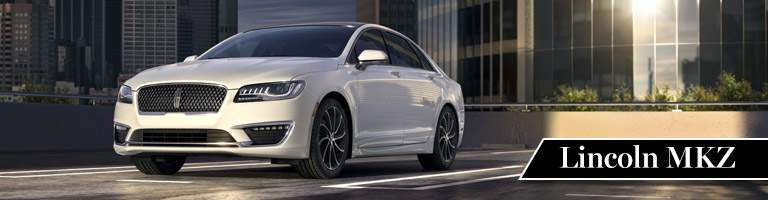2017 Lincoln MKZ White Exterior Front View