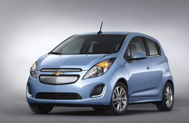 2016 Chevy Spark on white background
