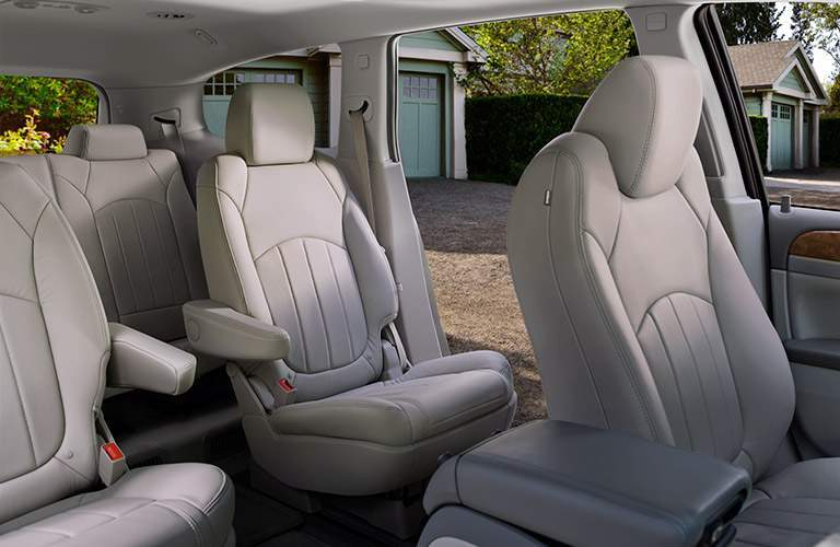 2017 Buick Enclave 3 Row Seating