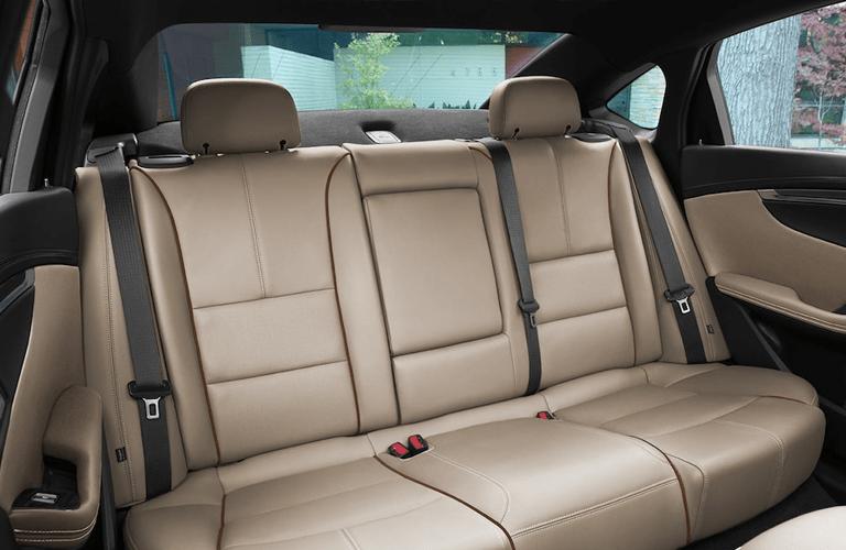 rear seats of 2018 chevy impala