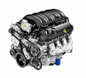 View of the 5.3L V8 Engine of a 2019 Chevrolet Silverado 1500