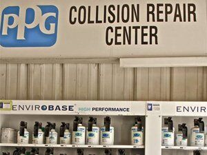 collision repair center