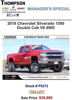 2018 Chevrolet Silverado 1500 Double Cab V8 4WD Stock#: P5327