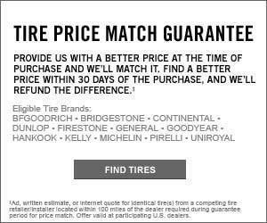 Price Match Tires at Bob Weaver Auto