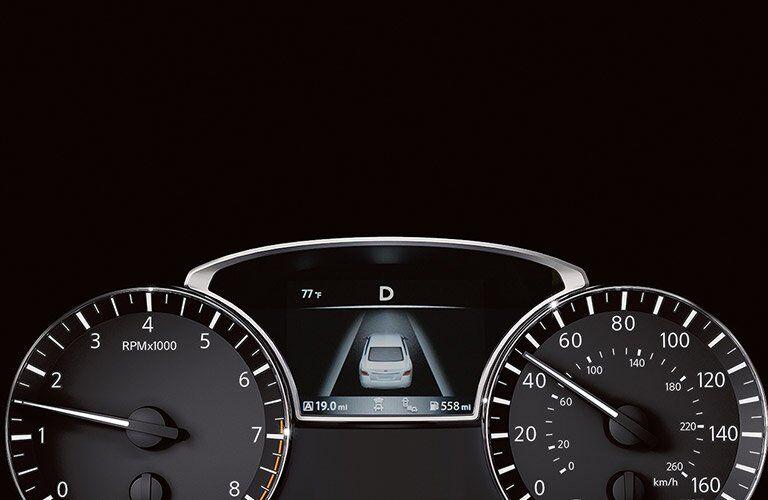 2017 Nissan Altima Black interior Spedomenter